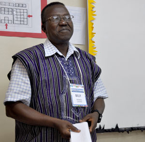 Billy Simbo, Bishop of Sierra Leone Conference.;