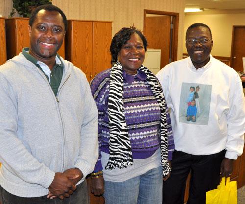 Alan Simbo, Theresa Musa, and Billy Simbo