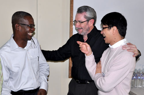 L-r: Isaac Nugent (Jamaica), Denis Casco (Mexico), and Ajiax Wo (Hong Kong).