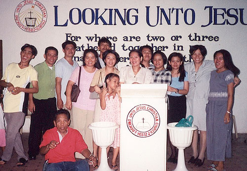 Members of the Philippine National Conference, known there as the Looking Unto Jesus Church.