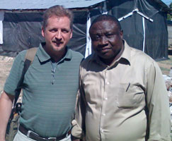 Jeff Bleijerveld (left) and Oliam Richard