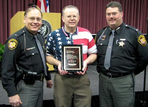 "Jim Woodward received the ""Outstanding Service Award"" in 2010."