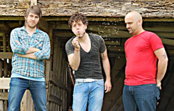 Attaboy (l-r): Jeff, Amos, Chris.