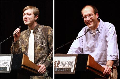 Amos Rawley (left) and Dr. Tim Smith
