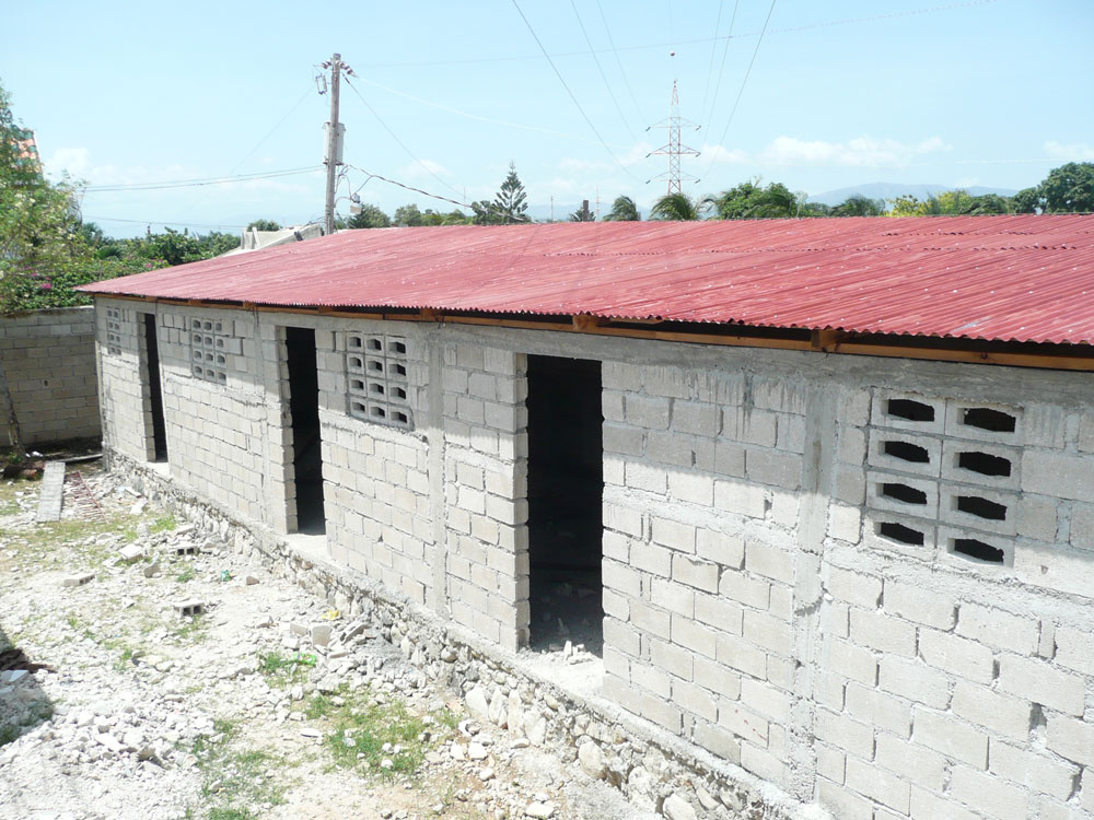 New school at the Delmas church in Haiti