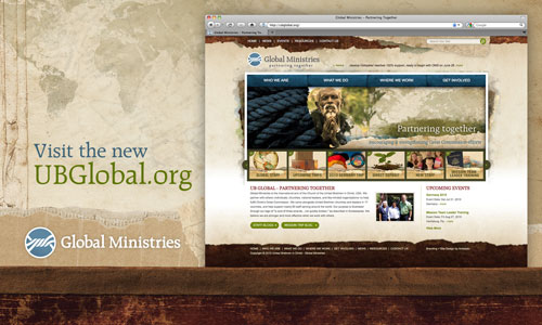 UBGlobal - New Website for Global Ministries