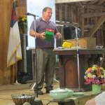 Ted Beck representing Samaritan's Purse.