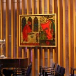Paintings in the Jewish chapel.