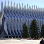 The Air Force Academy Chapel.