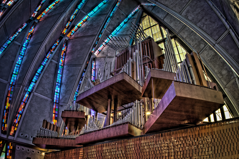 United States Air Force Academy Cadet Chapel, Colorado