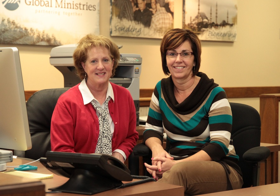 Peggy Sell (left) and Jana Gass.