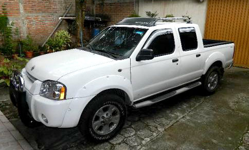 A new Nissan for the work in El Salvador.