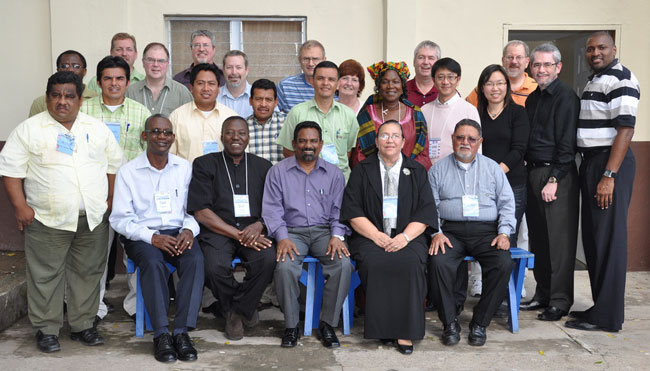 Delegates and guests who attended the 2010 General Conference in Honduras.