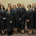 Recipients of the Masters in Counseling.