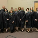 Recipients of the Master of Education degree.