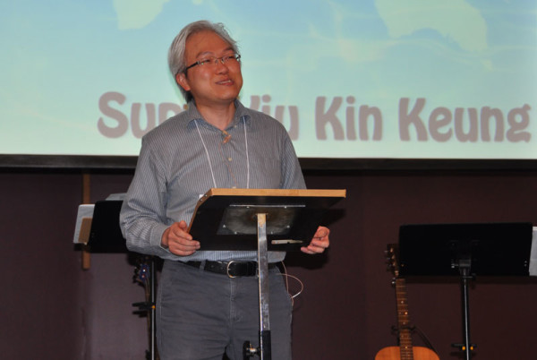 Yiu Kin Keung, superintendent of Hong Kong Conference, preached on Wednesday night of General Conference.