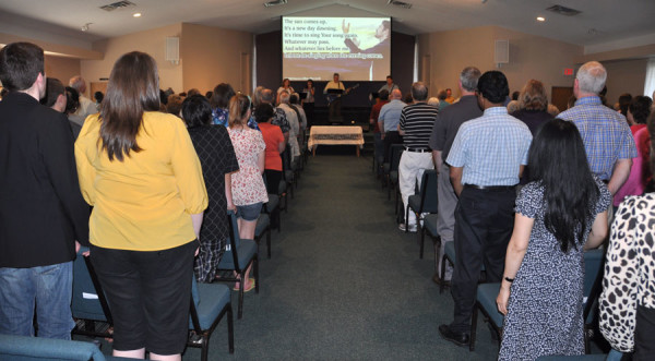 It was a packed house on Wednesday night at Parkwood Gardens church.