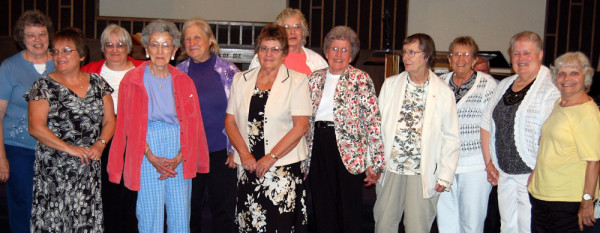 Women of the Hillsdale Evening Missionary Society.