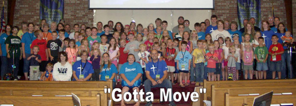 The 2013 Lake View VBS students and adult workers.