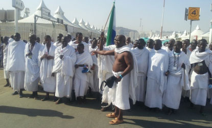 920 Muslims from Sierra Leone participated in the October 2013 pilgrimage to Mecca.