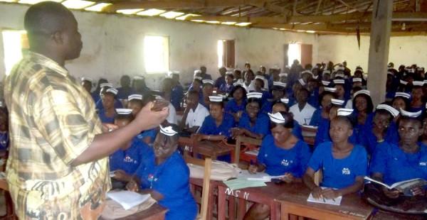 A nursing class.