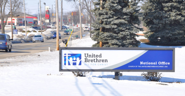 The new UB sign