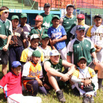 With the HU baseball team in Nicaragua.