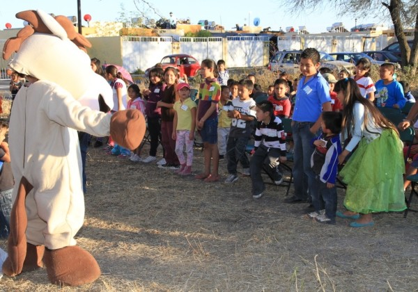 A children's outreach by a UB church in Mexico.