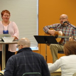 Brent and Loretta Liechty, from Pathway UB (Jackson, Mich.), led the music.