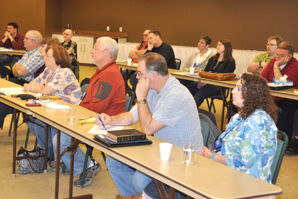 A group of 42 United Brethren pastors and spouses are attending.