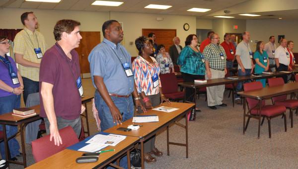 The Pastors Summit attendees.