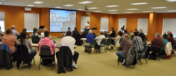 Todd Fetters, director of National Ministries, spearheaded the Pastors Summit.