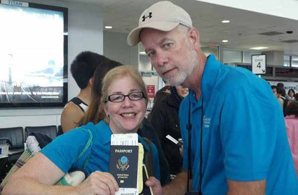 The trip was led by Robert and Fonda Cassidy, from Mt. Olivet UB church in Mt. Solon, Va.