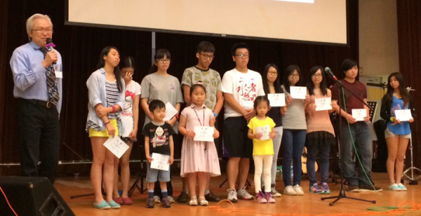 Hong Kong Superintendent Yiu Kin Keung introducing the Thailand missions team.