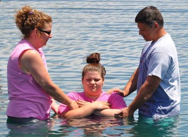 At Anchor's Baptism Sunday.