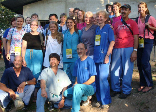 The Nicaragua medical team.