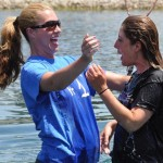 At the Anchor Baptism Sunday.