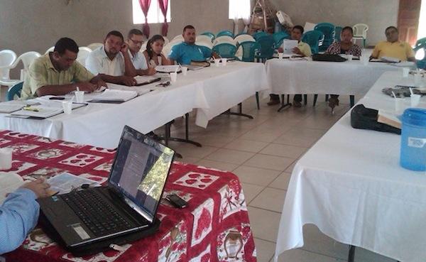 Superintendent Juanita Chavez leading EBTL training.