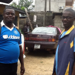 Two United Brethren pastors in Kenema.