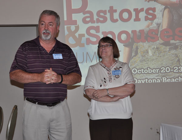Bishop Phil and Sandy Whipple.