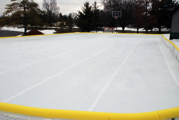 The new Huntington University ice rink.