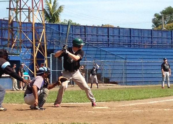...and batting.