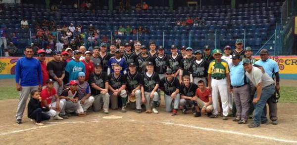 The baseball team in Nicaragua.