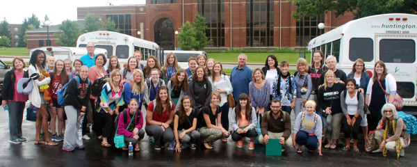 The Huntington University team going to China for the summer 2015 program.
