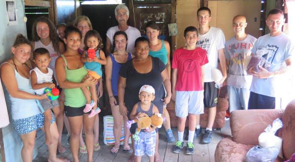 Devonshire group in Honduras.