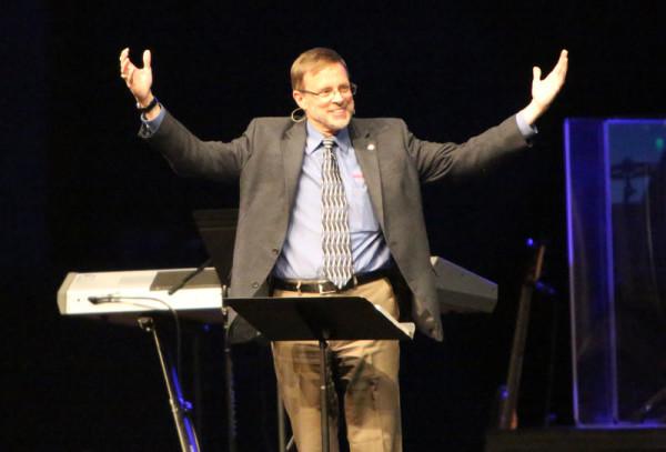 Keynote speaker Wayne Schmidt.