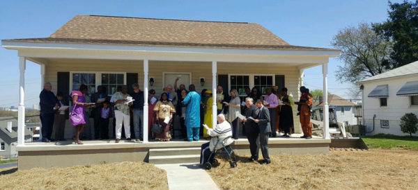 Dedication of the new parsonage at Brooklyn Park.