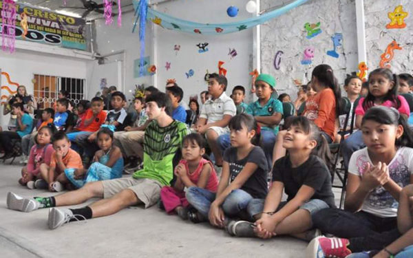 A VBS session.