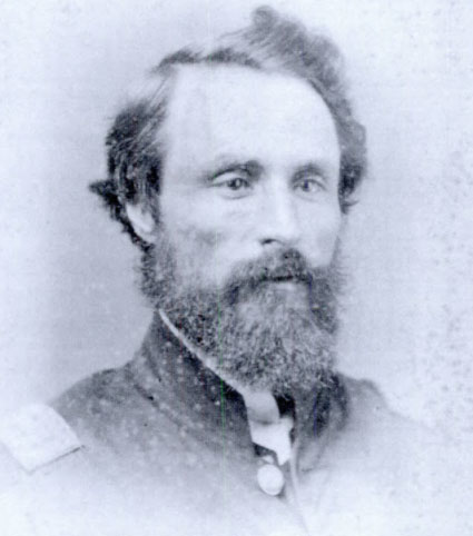 Dr. William D. Witte in his Civil War uniform.