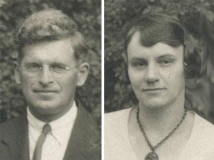 Lloyd and Eula Eby, 1933